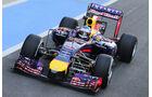Sebastian Vettel - Red Bull - Formel 1 - Silverstone-Test - 9. Juli 2014