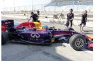 Sebastian Vettel - Red Bull - Formel 1 - Test - Bahrain - 20. Februar 2014