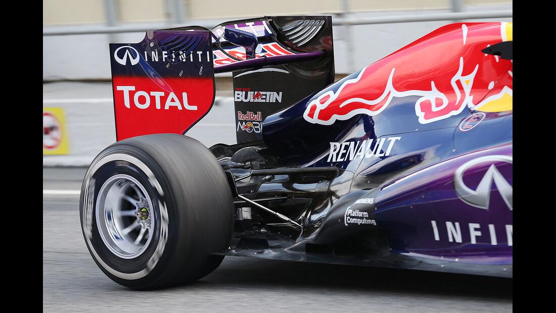 Sebastian Vettel, Red Bull, Formel 1-Test, Barcelona, 19.2.2013