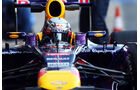 Sebastian Vettel, Red Bull, Formel 1-Test, Barcelona, 20. Februar 2013