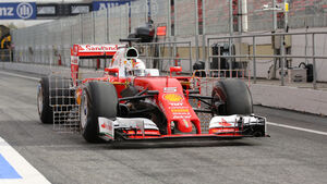 Sebastian Vettel - Red Bull - Formel 1-Test - Barcelona - 22. Februar 2016