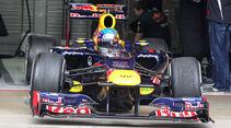 Sebastian Vettel - Red Bull - Formel 1-Test Barcelona - 4. März 2012