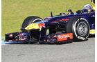 Sebastian Vettel, Red Bull, Formel 1-Test, Jerez, 8. Februar 2013