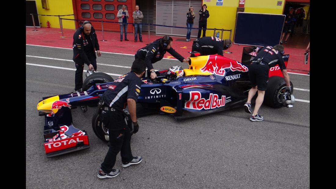 Sebastian Vettel - Red Bull - Formel 1-Test - Mugello - 3. Mai 2012