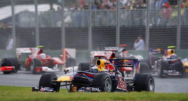 Sebastian Vettel Red Bull GP Australien 2010