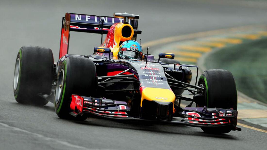 Sebastian Vettel Red Bull GP Australien 2014