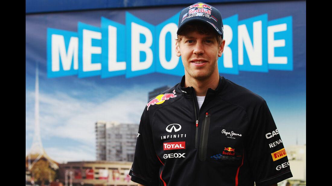 Sebastian Vettel - Red Bull - GP Australien - Melbourne - 15. März 2012
