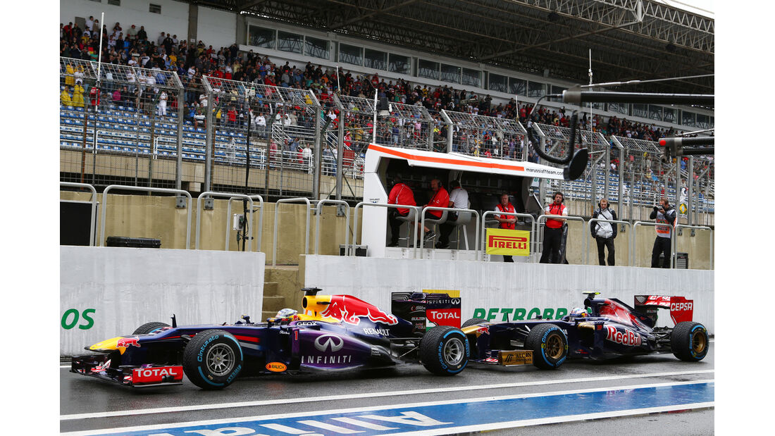 Sebastian Vettel - Red Bull - GP Brasilien - 23. November 2013