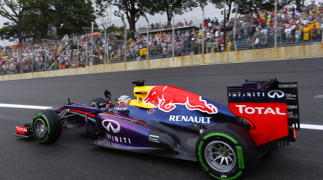 Sebastian Vettel - Red Bull - GP Brasilien - 23. November 2013
