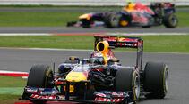 Sebastian Vettel Red Bull GP England 2011
