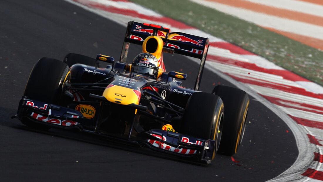 Sebastian Vettel Red Bull GP Indien 2011