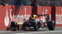 Sebastian Vettel Red Bull GP Italien 2011