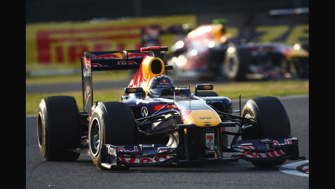 Sebastian Vettel Red Bull GP Japan 2011