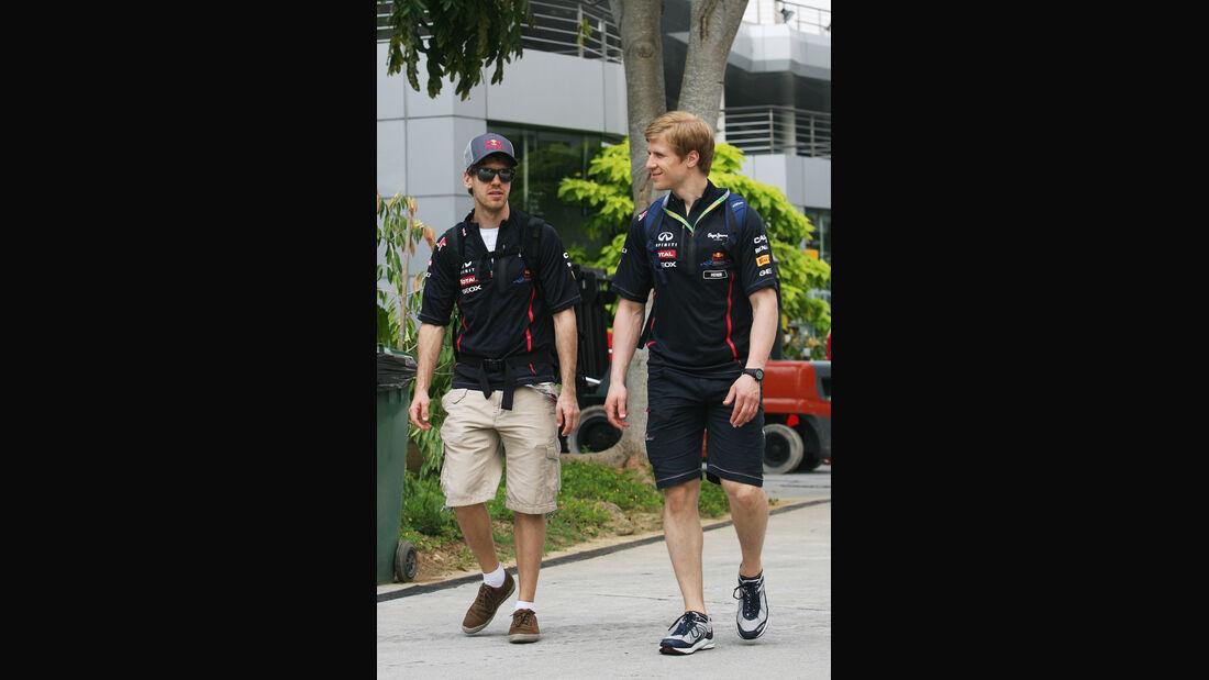 Sebastian Vettel - Red Bull - GP Malaysia - 22. März 2012