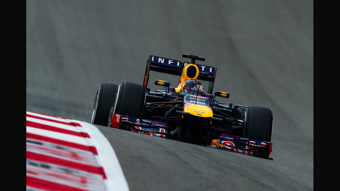 Sebastian Vettel - Red Bull - GP USA 2013