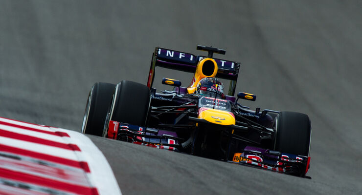 Sebastian Vettel - Red Bull - GP USA 2013