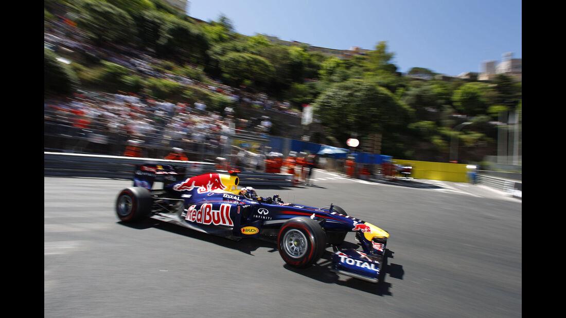 Sebastian Vettel - Red Bull RB7 - GP Monaco 2011
