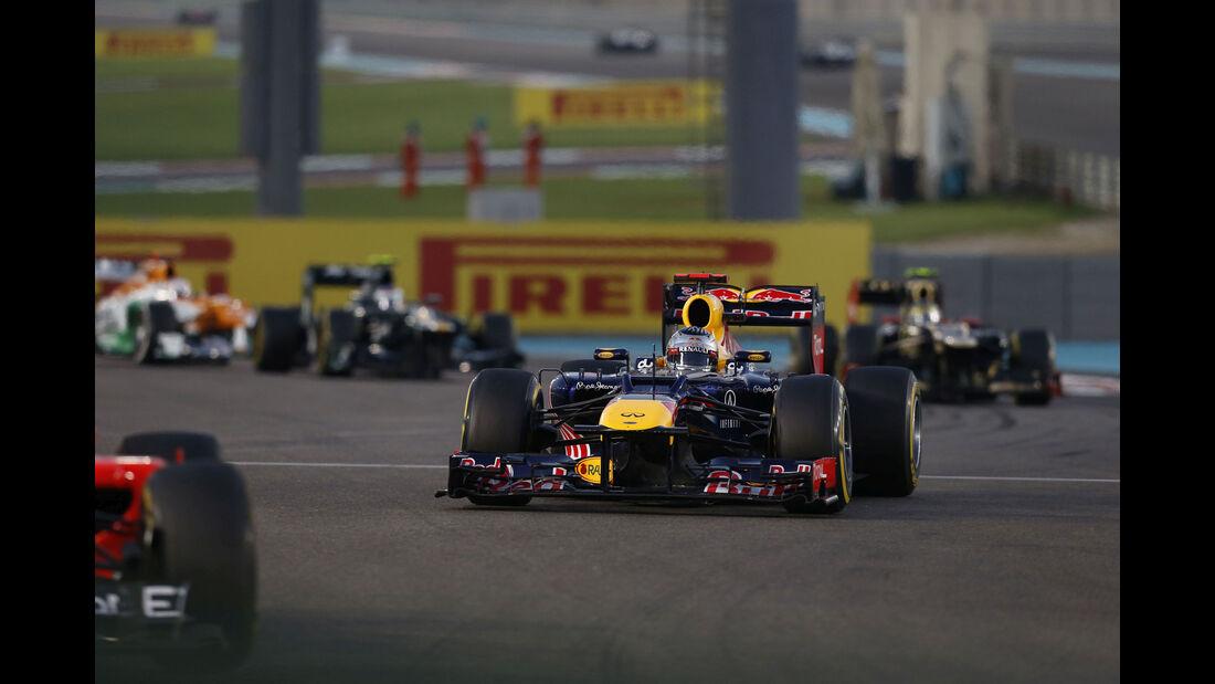 Sebastian Vettel - Red Bull RB8 - GP Abu Dhabi 2012