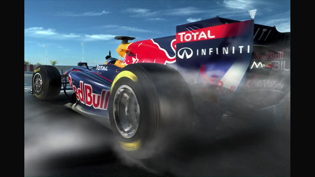 Sebastian Vettel - Red Bull-Video