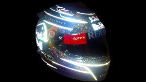 Sebastian Vettel - Singapur Helm 2013