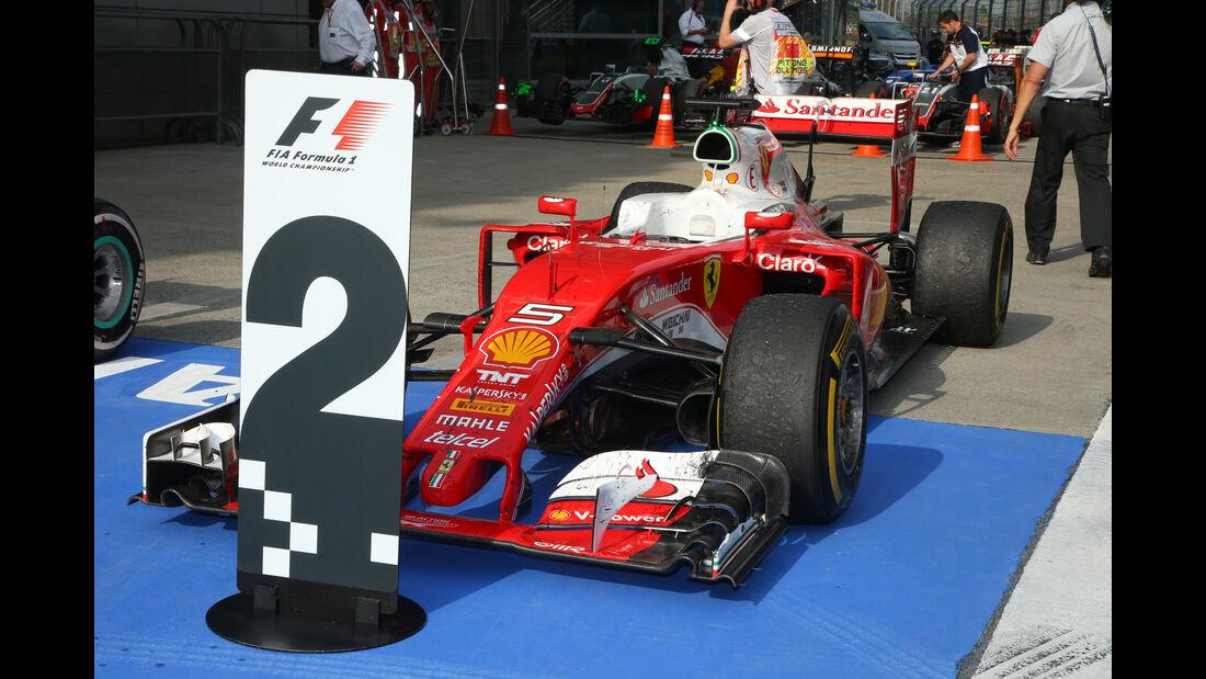 Sebastian Vettel - Statistik - GP China 2016