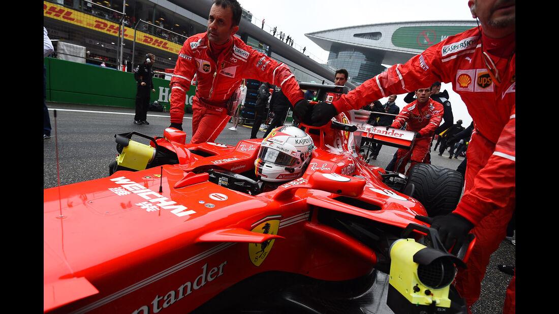 Sebastian Vettel - Stats - GP China 2017