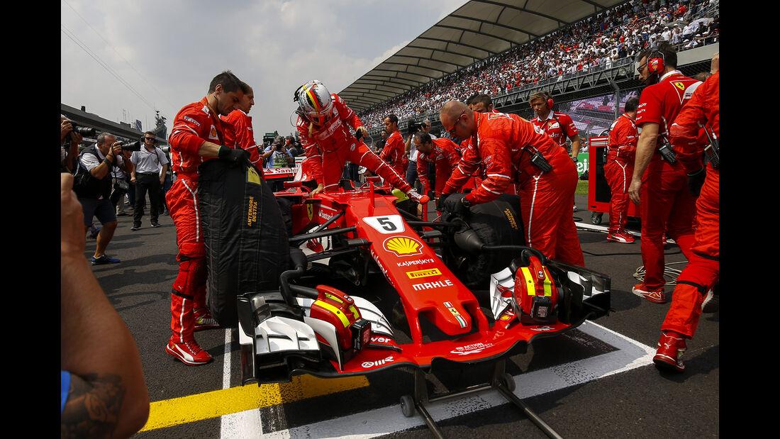 Sebastian Vettel - Stats - GP Mexiko 2017