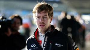 Sebastian Vettel Test Jerez 2013