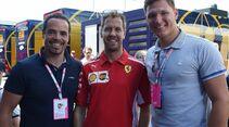 Sebastian Vettel - Thomas Dreßen - Formel 1 - GP Österreich - 1. Juli 2018