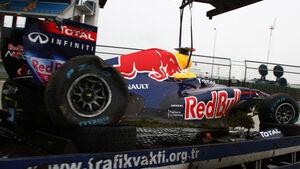 Sebastian Vettel - Türkei Crash 2011