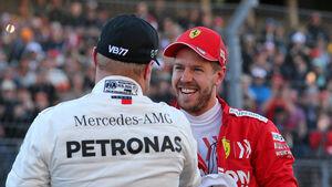 Sebastian Vettel & Valtteri Bottas - F1 - 2019