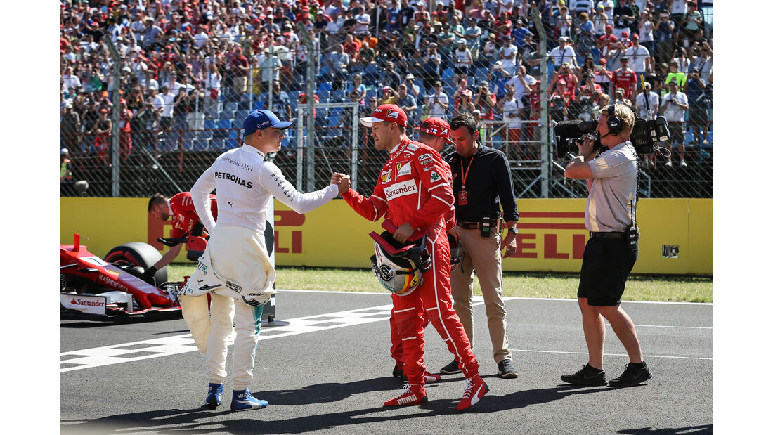 Sebastian Vettel - Valtteri Bottas - GP Ungarn 2017 - Budapest - Qualifying