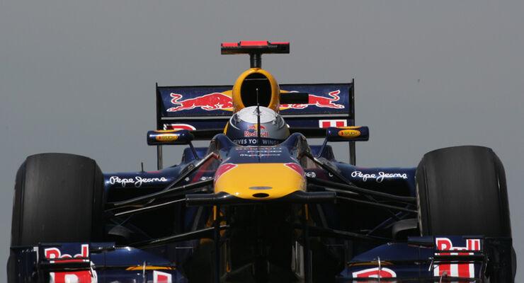 Sebastian Vettel beim GP Türkei 2010
