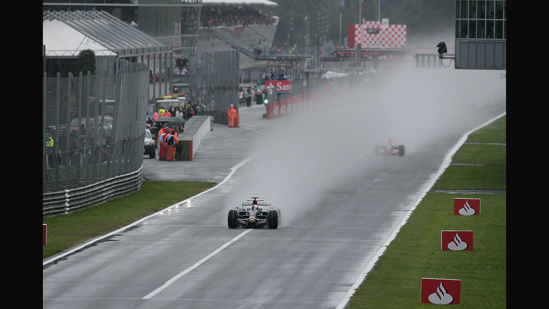 Sebastian Vettel in Monza