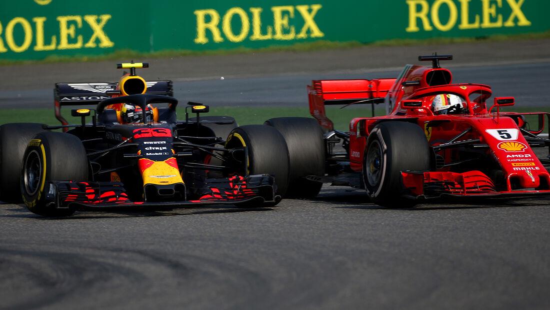 Sebastian Vettel vs. Max Verstappen