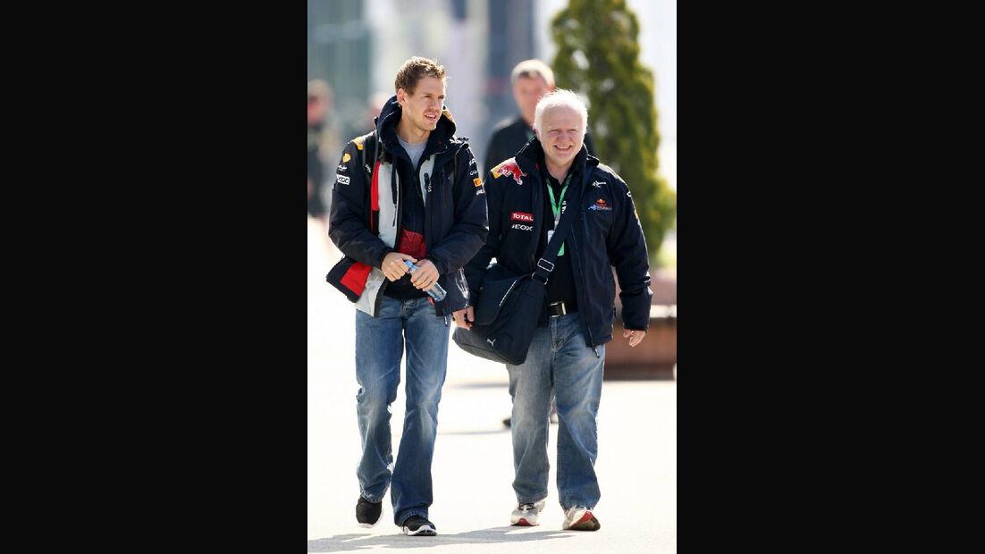 Sebastian und Norbert Vettel GP Türkei 2011