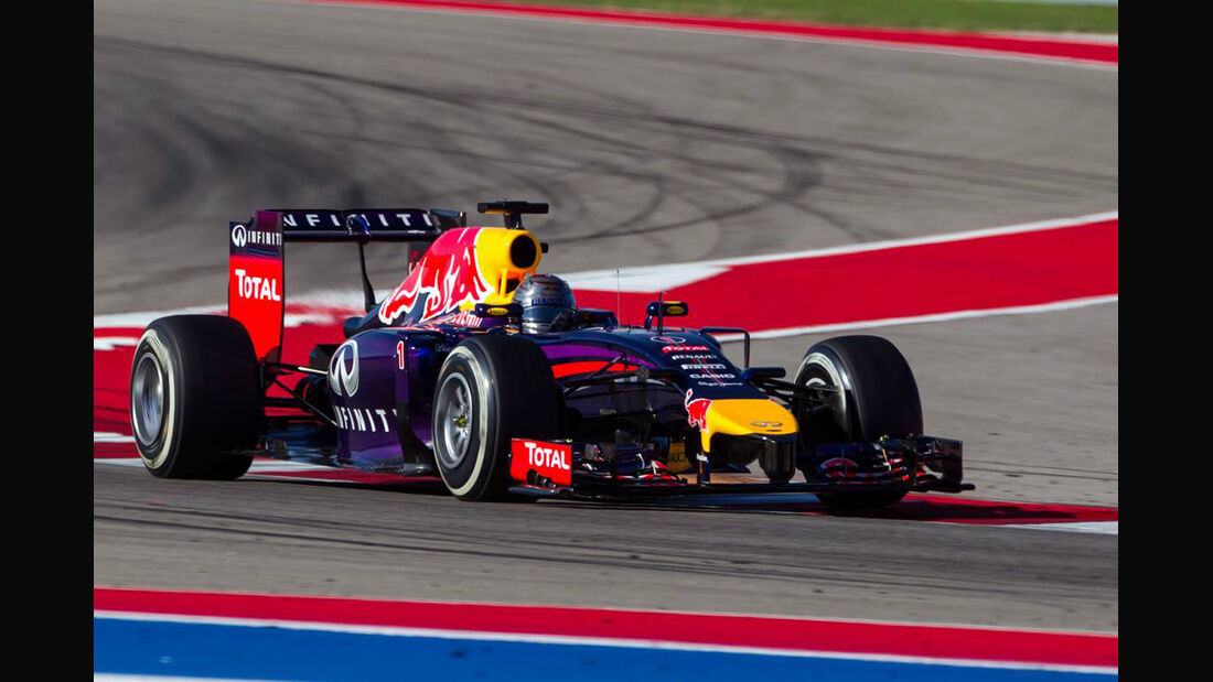 SebastianVettel - Formel 1 - GP USA - 1. November 2014