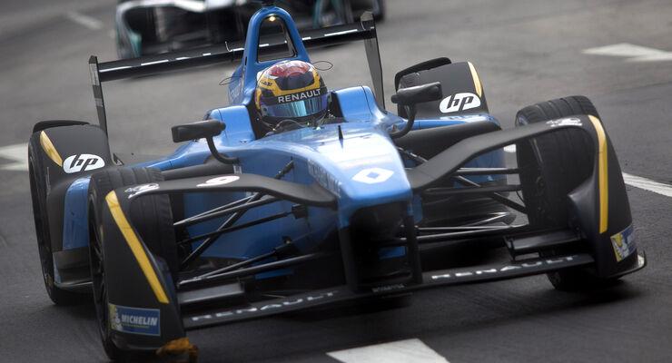 Sebastien Buemi - Formel E - Hong Kong 2016