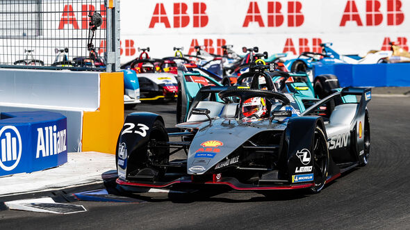 Sebastien Buemi - Formel E - New York - 2019