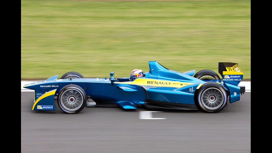Sebastien Buemi - Formel E-Test - Donington - 07/2014