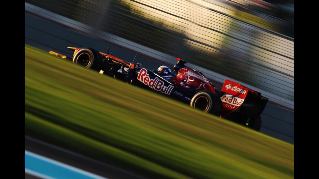 Sebastien Buemi GP Abu Dhabi 2011