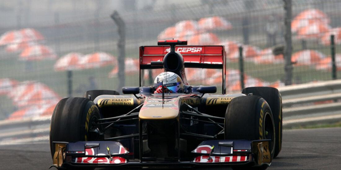 Sebastien Buemi - GP Indien - Training - 28.10.2011