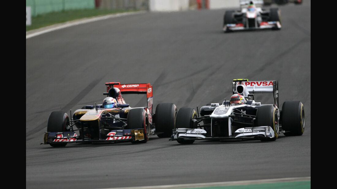 Sebastien Buemi GP Korea 2011