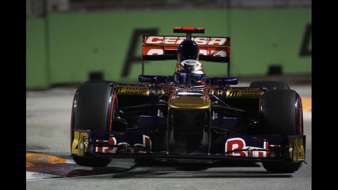 Sebastien Buemi - GP Singapur - 24. September 2011