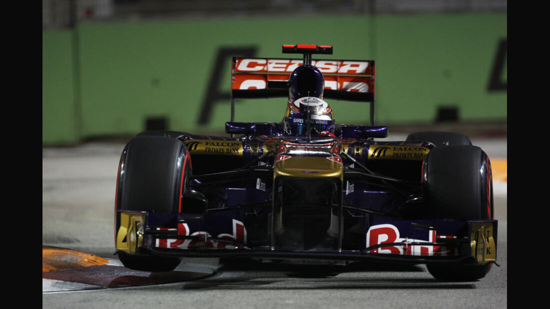 Sebastien Buemi - GP Singapur - 24. September 2011