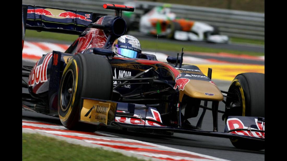 Sebastien Buemi - GP Ungarn - Formel 1 - 29.7.2011