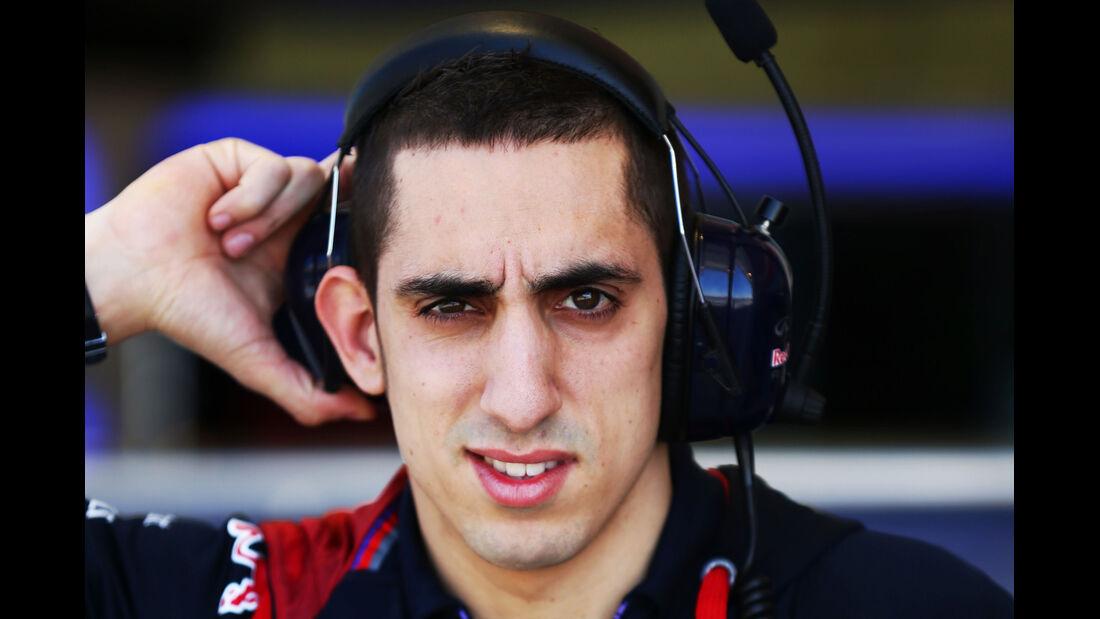 Sebastien Buemi - Red Bull - Formel 1 - Bahrain - Test - 2. März 2014