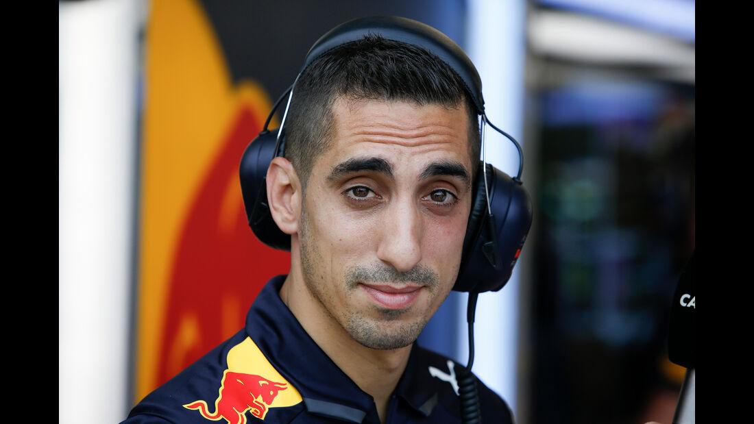 Sebastien Buemi - Red Bull - Formel 1 - GP Singapur - 14. September 2018