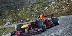 Sebastien Buemi - Red Bull - Showrun - Gotthard-Pass - RB8 - 2017