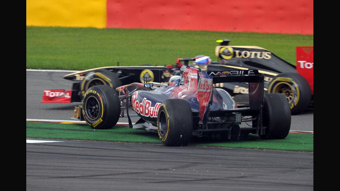 Sebastien Buemi Rennen GP Belgien 2011